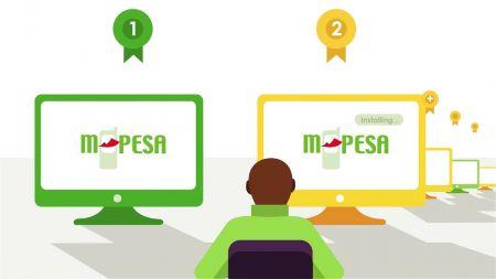 Depósito y retiro usando M-Pesa en Exness